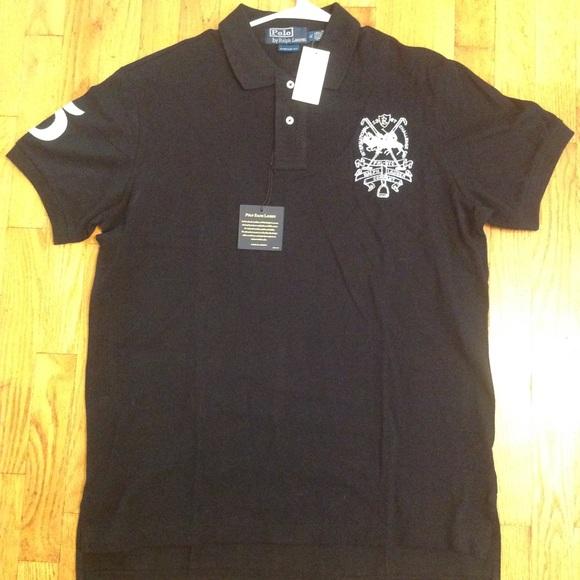 23cbc29ac Men s Polo Ralph Lauren Black Short Sleeve Shirt. NWT